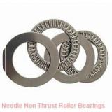 1.125 Inch | 28.575 Millimeter x 1.625 Inch | 41.275 Millimeter x 1 Inch | 25.4 Millimeter  MCGILL MR 18 N DS  Needle Non Thrust Roller Bearings
